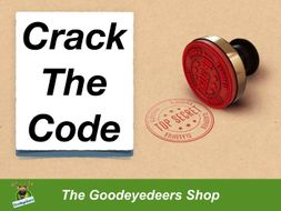 Crack The Code - Year 3/4 NC Word List