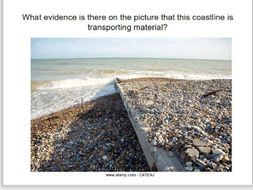 coastal transportation and deposition