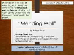 mending wall simple explanation