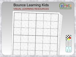 Graph paper - plain with guide lines