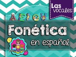 Spanish Phonics Book Set #1: Las vocales