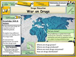War on Drugs - Drug trafficking
