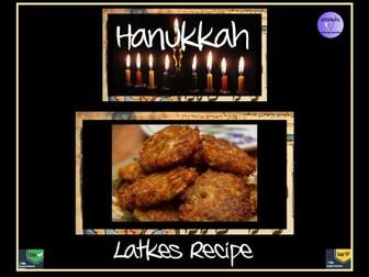 Recipe for Latkes - Hanukkah Potato Pancakes - Delicious!
