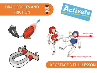 Drag Forces and Friction (KS3 Activate)