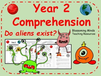 Year 2 Space Comprehension - Do aliens exist?