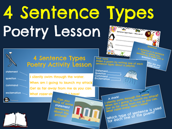 Sentence Types Riddle Poetry