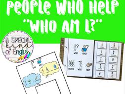 People who help - Who am I?
