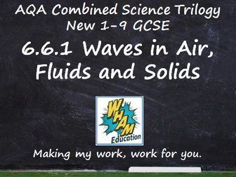 AQA Combined Science Trilogy: 6.6.1 Waves in Air, Fluids and Solids