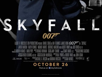 WJEC GCSE Film Studies Skyfall Resource Pack