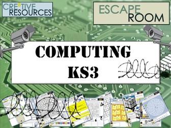 Computing KS3 Escape Room - Python