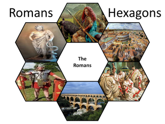 Year 7: Roman Visual Hexagons