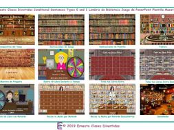 Conditional Sentences Types 0 and 1 Bookworm Interactive Spanish PowerPoint Game