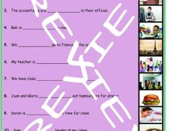 Adverbs of Frequency & Frequency Expressions 3 Photo Worksheet Set