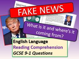Fake News Reading Comprehensions Bundle
