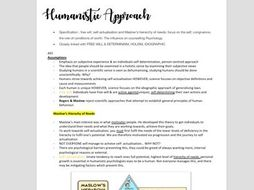AQA Psychology Approaches Notes FULL