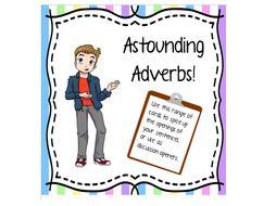 Astounding Adverbs Cards
