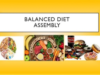 Importance of a Balanced Diet Assembly
