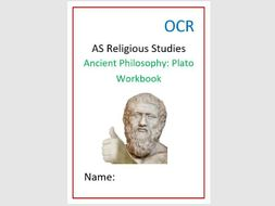 OCR Ancient Philosophy: Plato Workbook and Exam Question