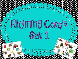 Rhyming Cards Set 1