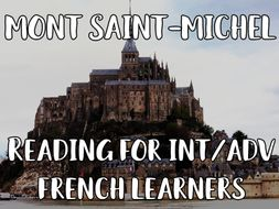 Mont Saint-Michel reading for int/advanced French learners