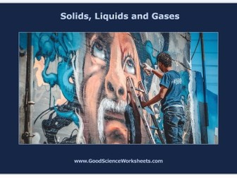 States of Matter: Solids, Liquids and Gases [Cloze Worksheet – Interactive Version]