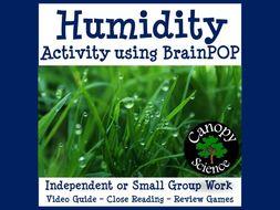 Humidity Activity using BrainPOP