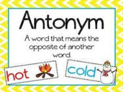 French antonyms by olgab8 teaching resources tes french antonyms m4hsunfo
