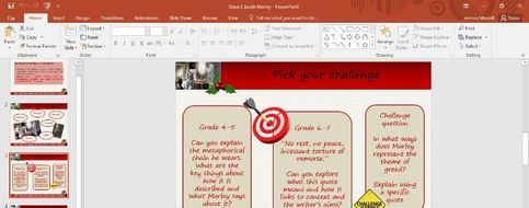 A Christmas Carol Stave 1   Teaching Resources