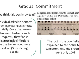 AQA PSYCH A-Level - Obedience (Milgram)