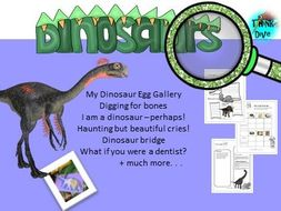 Dinosaurs - STEAM