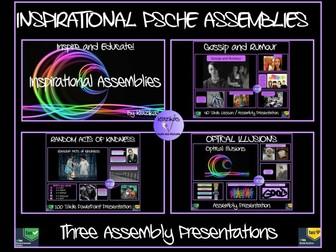 Assemblies Bundle: Three Inspirational Assemblies