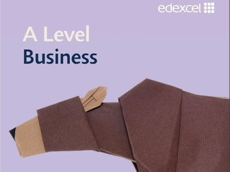 Edexcel A Level Business Simplified Assessment (Marking) Sheets