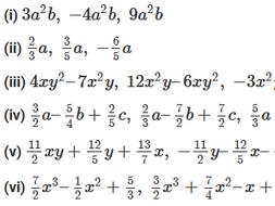 Edexcel A level Pure Maths Chapter 1 Algebraic expressions