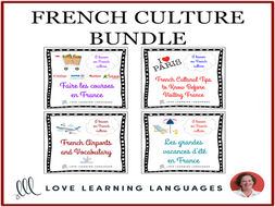 French Culture Lessons - Bundled French Resources