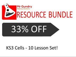 KS3 Cells  - Lesson Set (10 Lessons!)