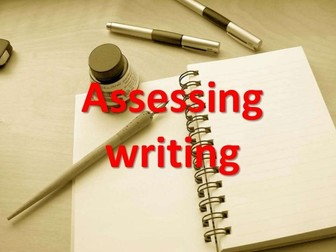 Levelling Writing the EASY WAY ... Fully Automated ASSSESSMENT System!!!!