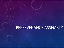 PERSEVERANCE ASSEMBLY
