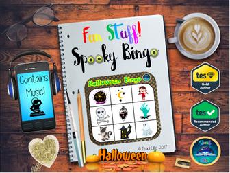 Halloween : Halloween Bingo