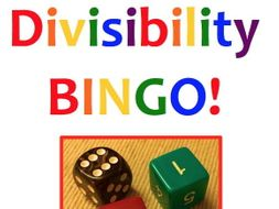 Divisibility Bingo - a game to practice the tests for 2, 3, 4 and 6