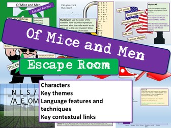 Of Mice and Men - Escape Room