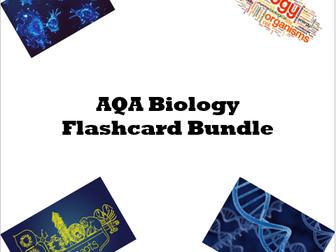AQA Biology Flashcards Bundle