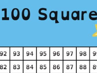 100 Square - Missing Numbers