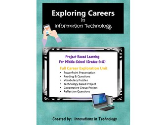 Exploring Careers:  Information Technology