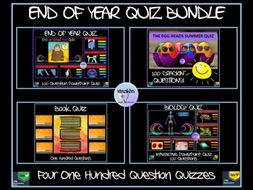 End of Year Quiz Bundle