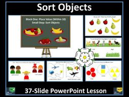 Sort Objects - Year 1 - Autumn Term - White Rose Maths