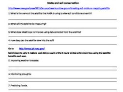 Soil conservation with NASA and remote sensing. Soil review/CO2 farming Webquest