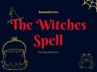 The Witches' Spell - Capacity Key Stage 1
