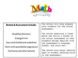 Grade 3, Math Module 3 REVIEW & ASSESSMENT w/Ans keys (printables & Smart Board)