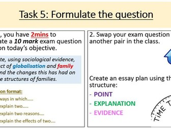 as sociology paper revision bundle by studentfriendly teaching  as sociology paper 2 revision globalisation of the family new specification
