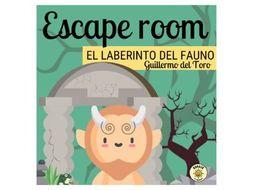 El laberinto del fauno Escape Room. Spanish A Level Pan's Labyrinth. Answers included